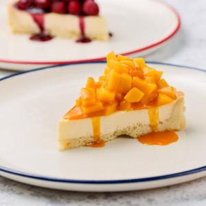 Тарт с манго